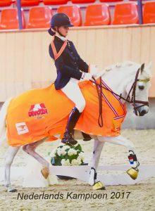 Mirthe Bakker wint goud op Nederlands Kampioenschap!