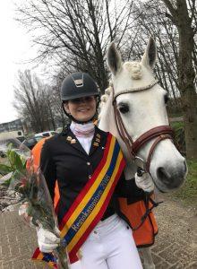 Mirthe en Sultan Regiokampioen van Overijssel