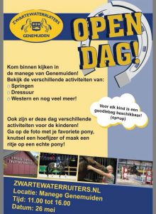 26 mei Hippische Open Dag