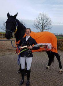Daphne Visscher wint 1e prijs