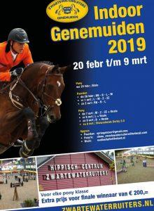Goed gevulde prijzenpot voor ponyruiters tijdens Indoor Genemuiden