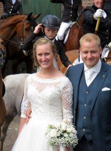 Elisabeth Beens trouwt in Genemuiden